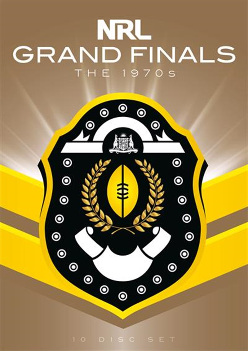 NRL - The Grand Finals Collection - The 1970s | DVD