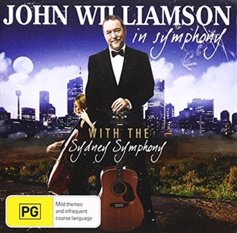 John Williamson In Symphony | CD/DVD
