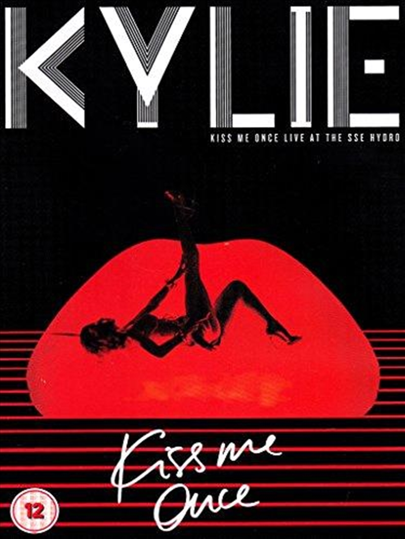Kiss Me Once Live At The Sse Hydro [2015] | CD/DVD