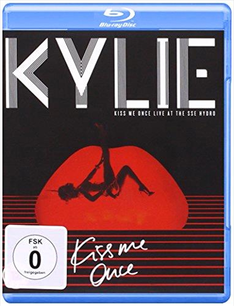 Kiss Me Once Live At The Sse Hydro | Blu-ray/CD
