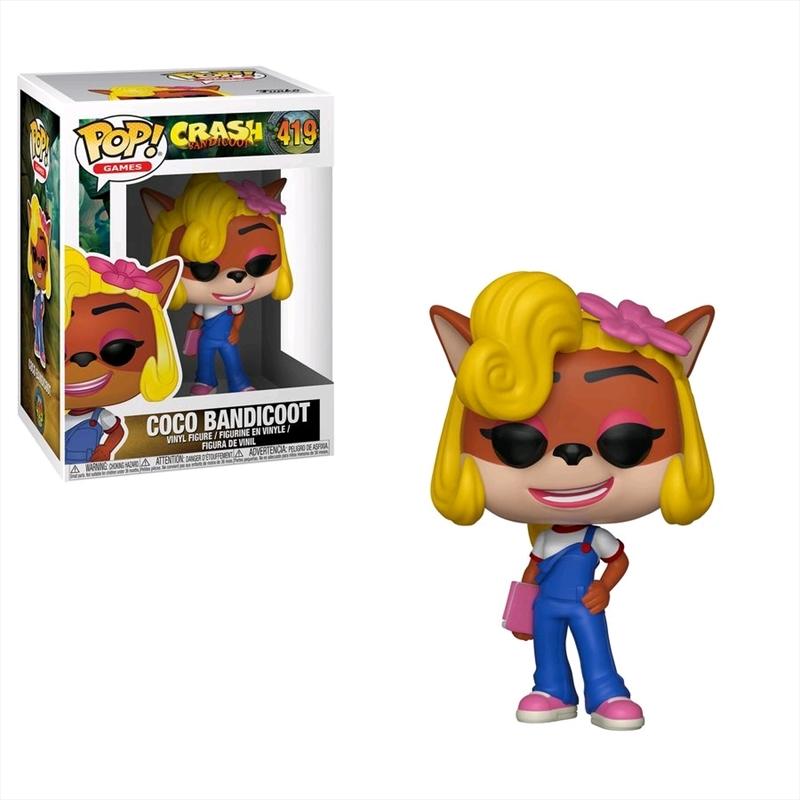Crash Bandicoot - Coco Pop! Vinyl   Pop Vinyl