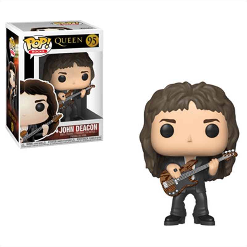 Queen - John Deacon Pop! Vinyl | Pop Vinyl