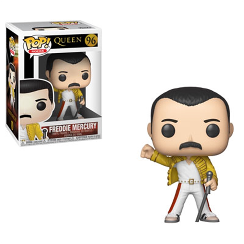 Queen - Freddie Mercury Wembley 1986 Pop! Vinyl | Pop Vinyl