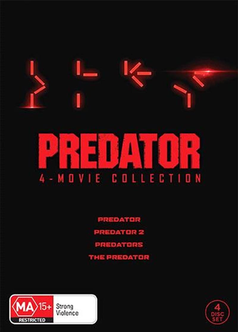 Predator / Predator 2 / Predators / The Predator Boxset   DVD