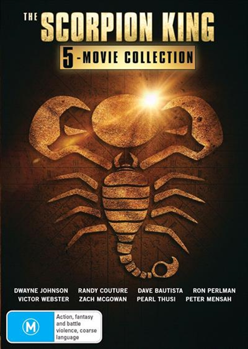 Scorpion King 5 Pack - Franchise Pack, The | DVD