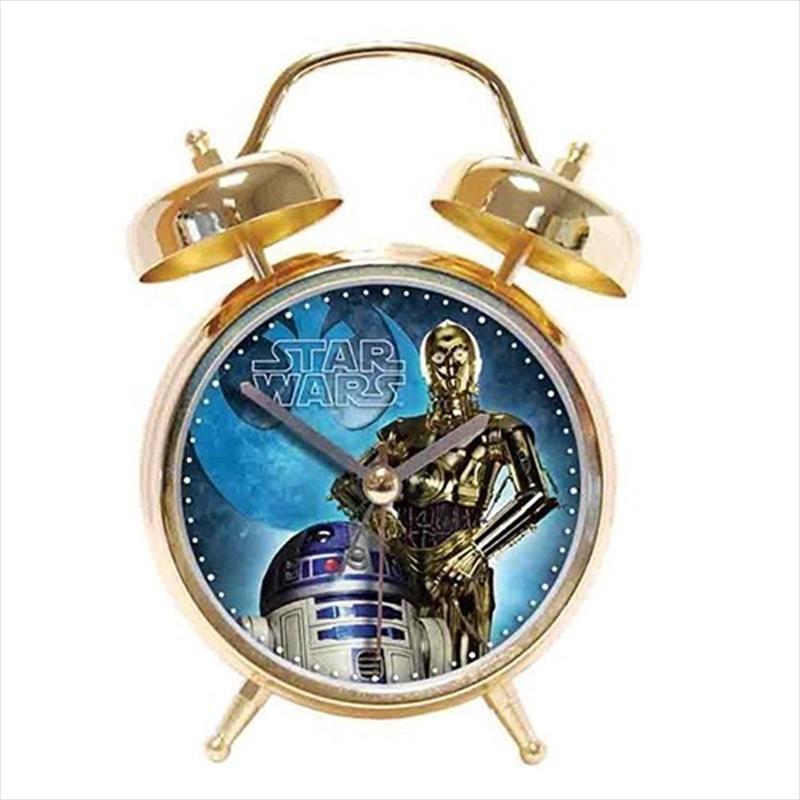Star Wars Alarm Clock Twinbell | Accessories