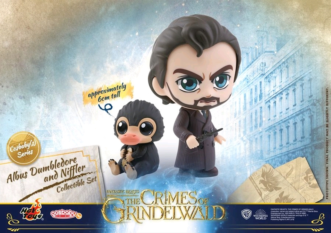 Fantastic Beasts 2: The Crimes of Grindelwald - Dumbledore & Niffler Cosbaby | Merchandise