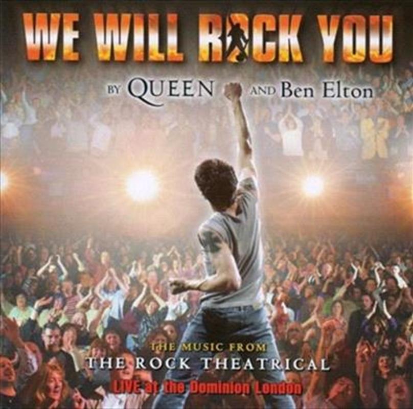 We Will Rock You - Soundtrack - Cast Album | CD