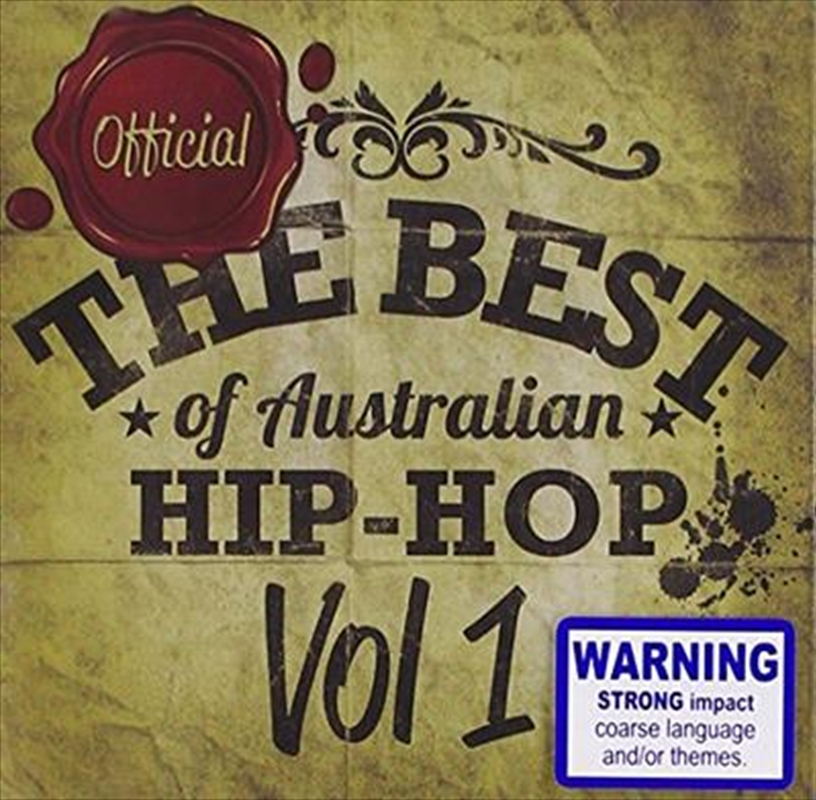 Best Australian Hip-Hop Vol 1 | CD