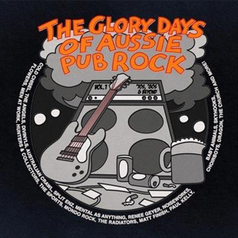 Glory Days Of Aussie Pub Rock Vol.1, The | CD