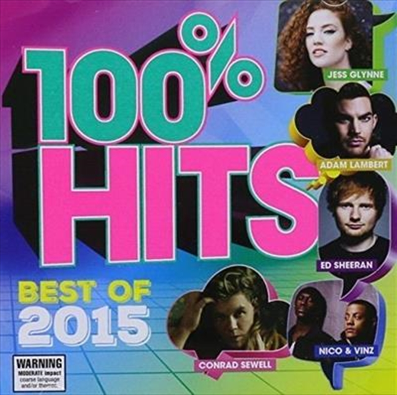100% Hits Best Of 2015 | CD