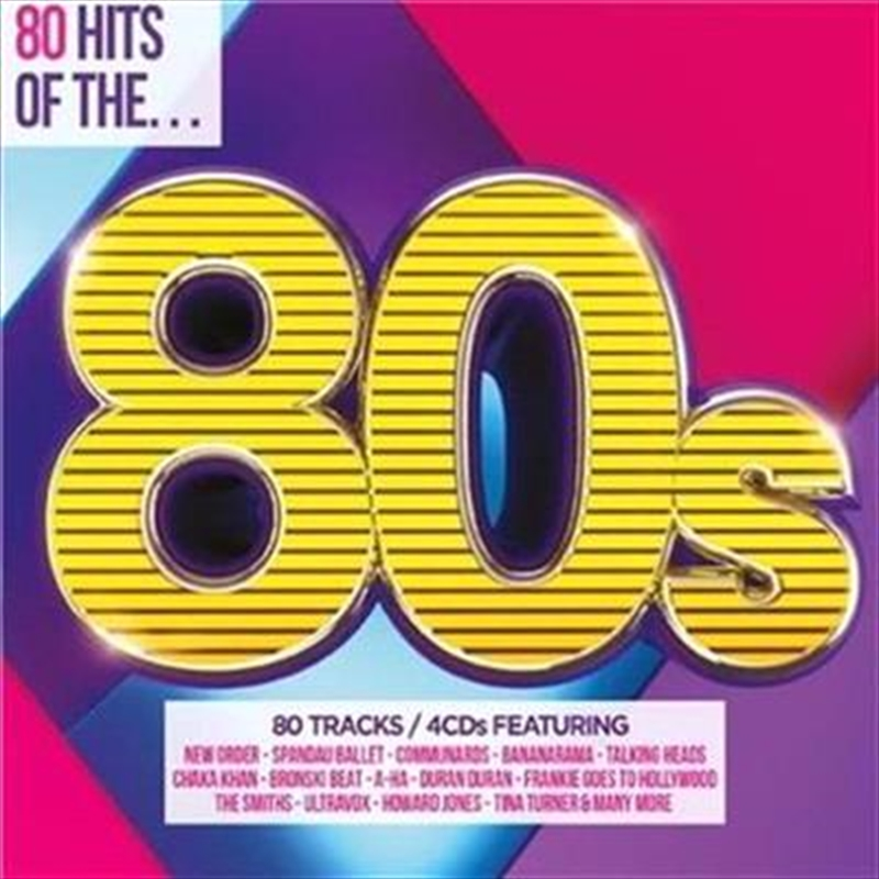 Various - 80 Hits Of The 80's - 4cd Set | CD