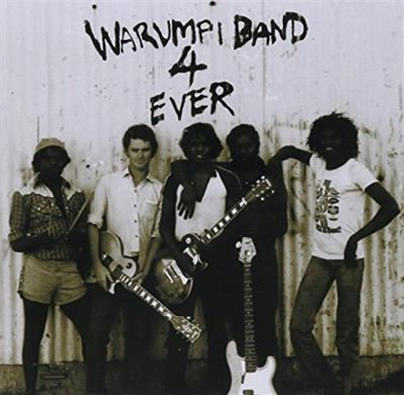 Warumpi Band 4 Ever | CD