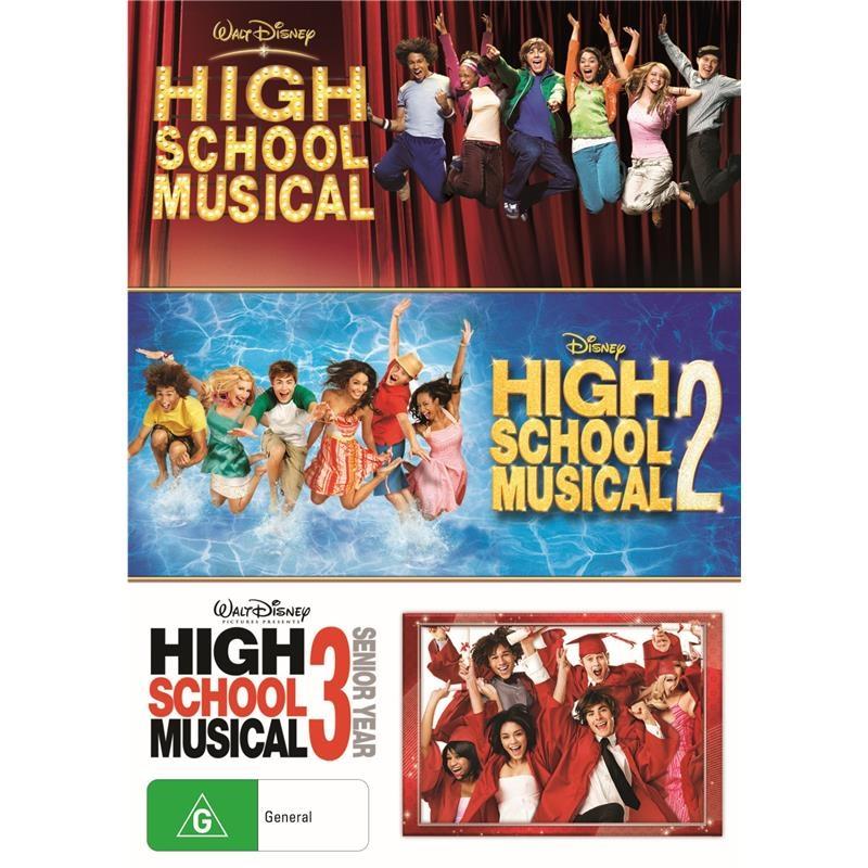 Buy High School Musical Triple Pack On DVD