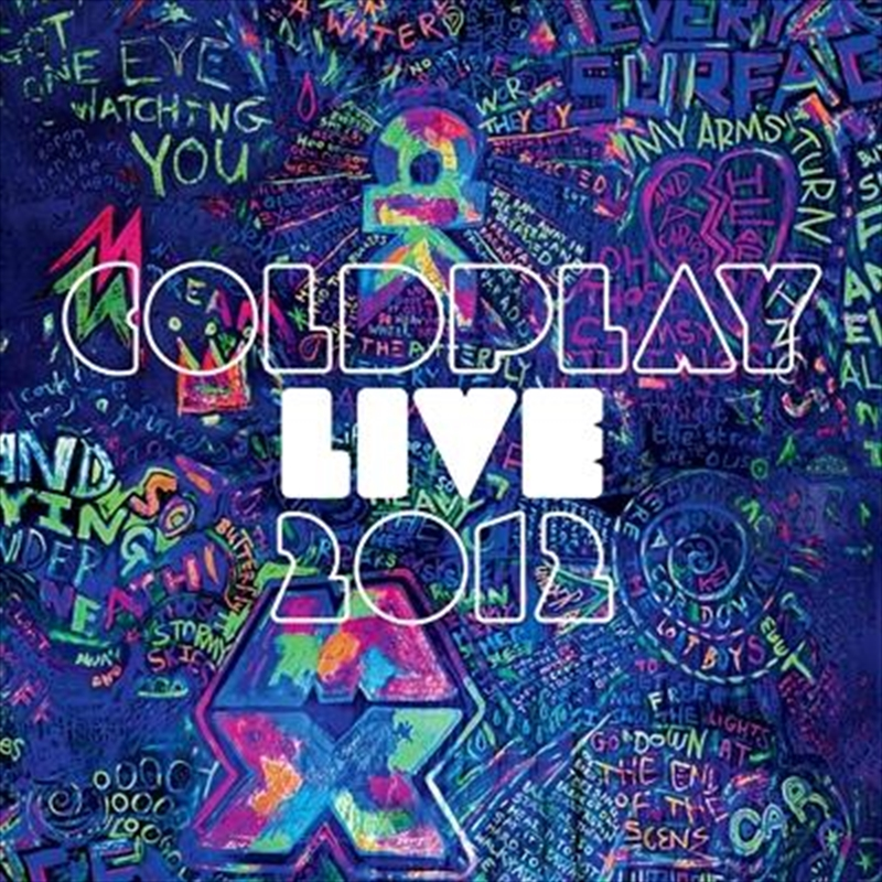 Coldplay Live 2012 | CD/DVD