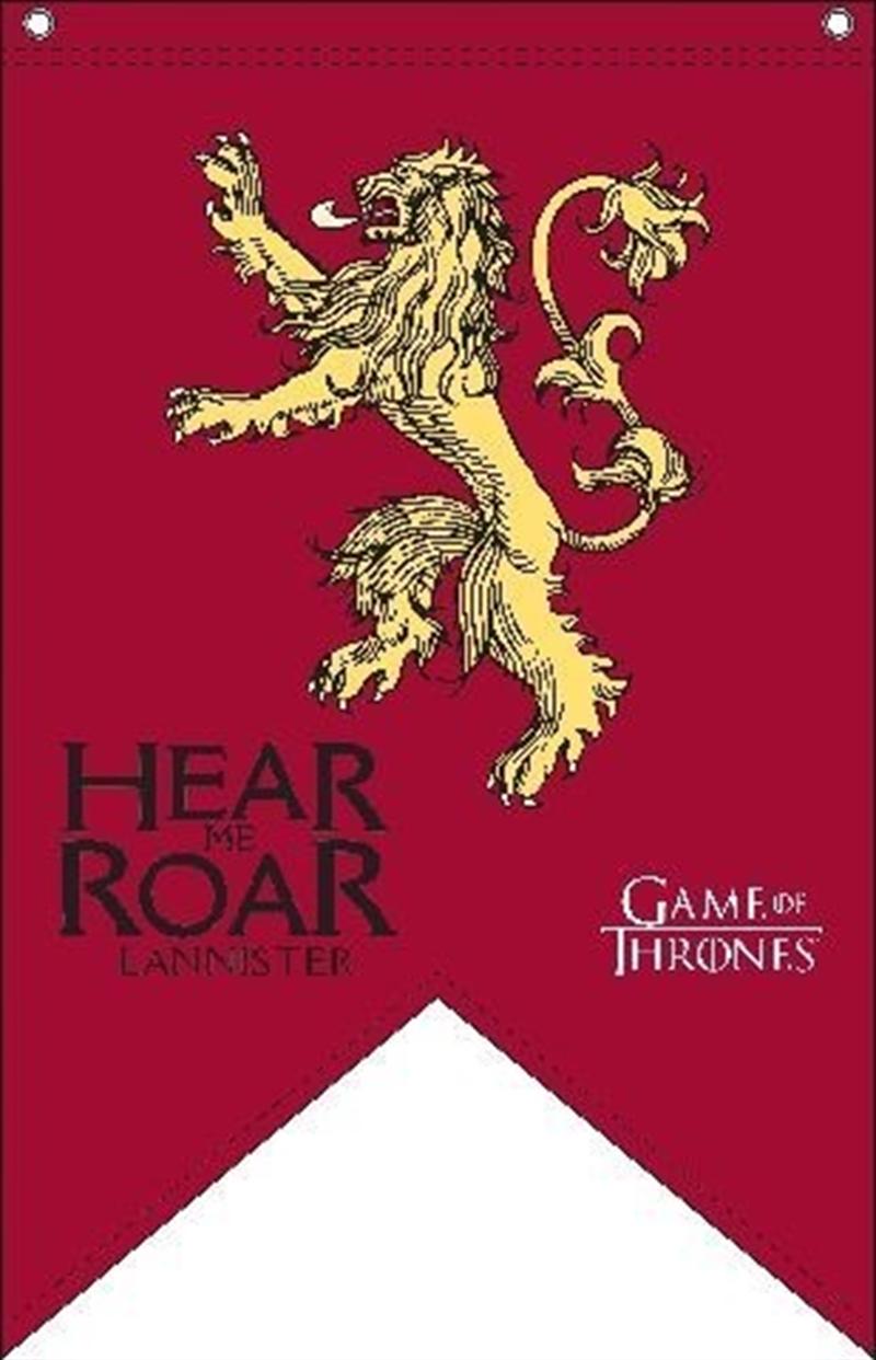 Game of Thrones Flag Lannister 90cm x 150cm | Merchandise