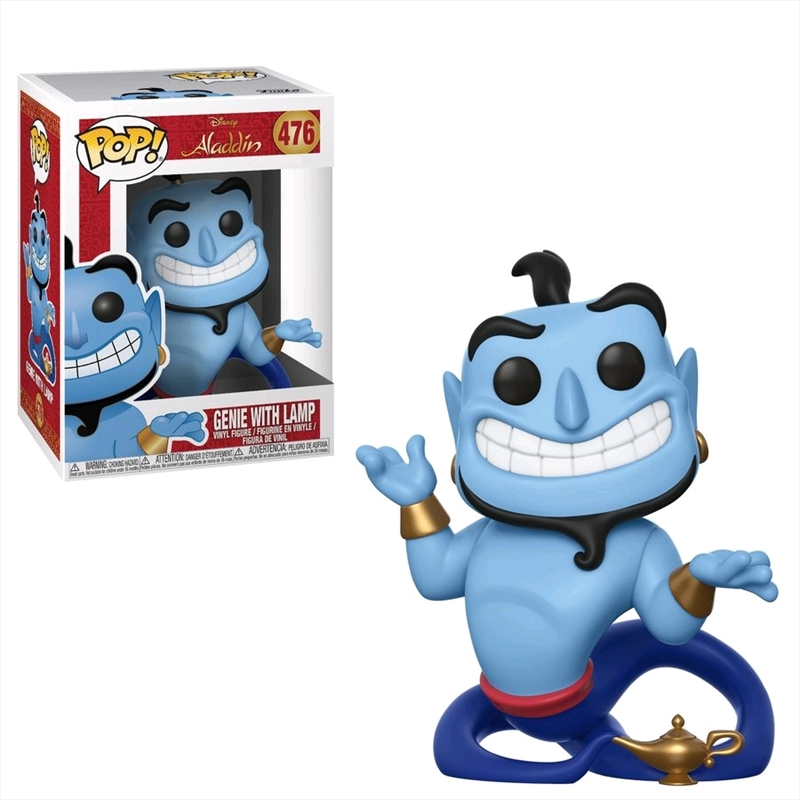 Aladdin - Genie with Lamp Pop! Vinyl | Pop Vinyl