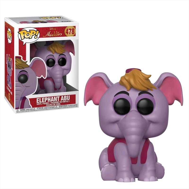 Aladdin - Elephant Abu Pop! Vinyl | Pop Vinyl