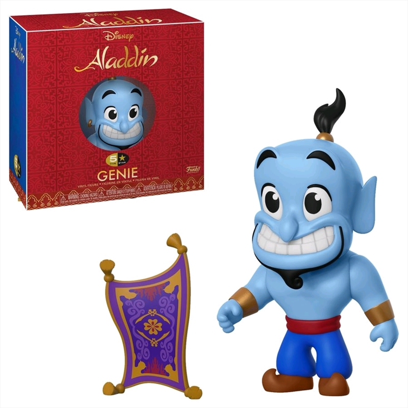 Aladdin - Genie with Carpet 5-Star Vinyl Figure | Merchandise