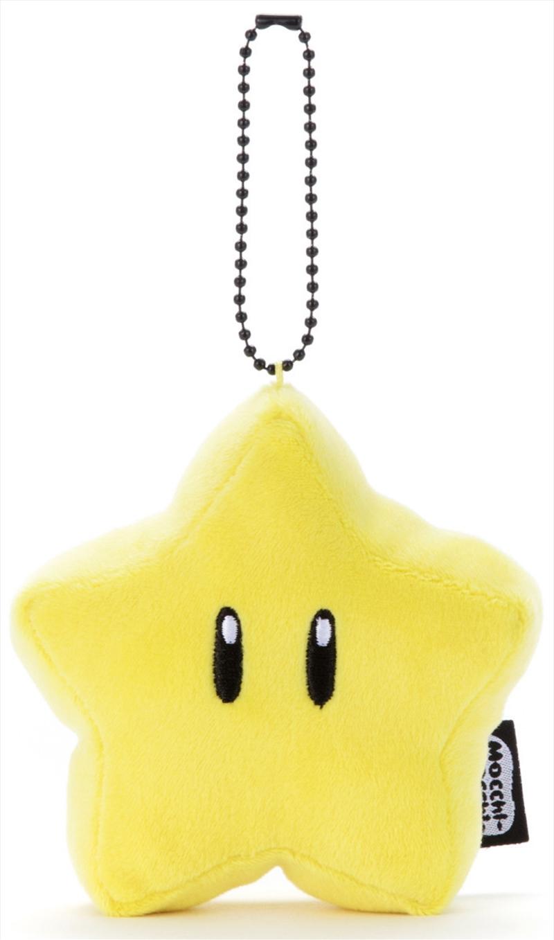 Mocchi Mocchi Mario Kart Plush Small Star | Toy