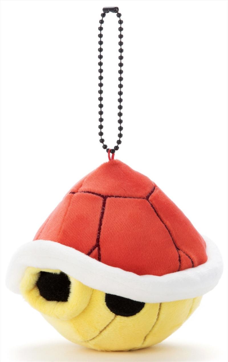 Mocchi Mocchi Mario Kart Plush Small Red Shell | Toy