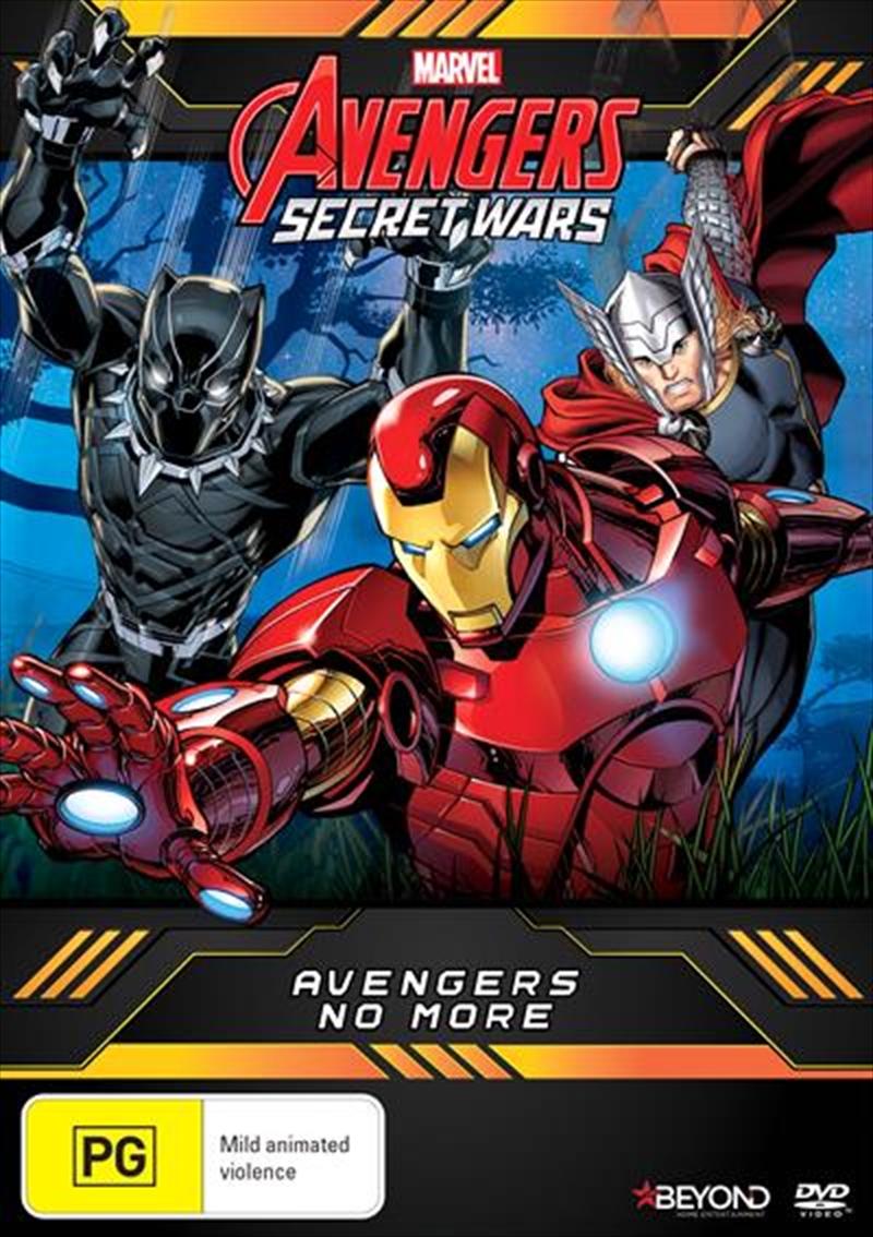 Avengers Secret Wars - Avengers No More   DVD
