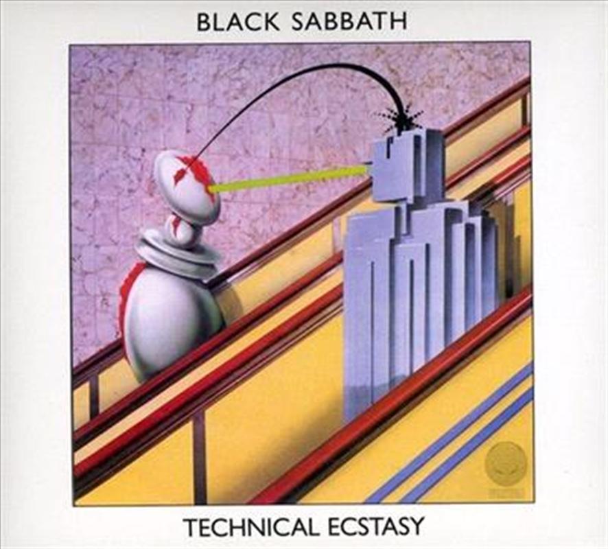 Technical Ecstasy Metal Cd Sanity