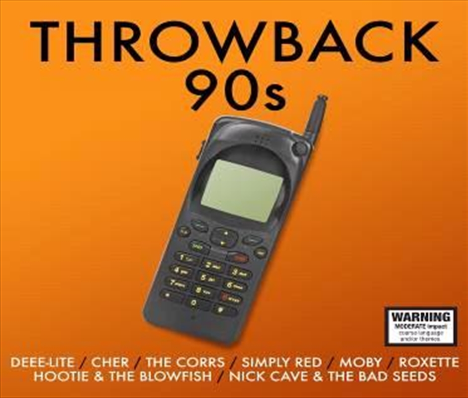 Throwback 90s Compilation Cd Sanity