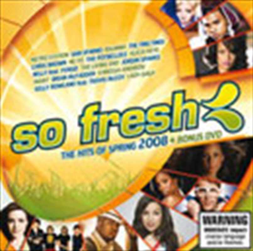 So Fresh Hits Of Spring 2008 Rock Pop Dvd Sanity