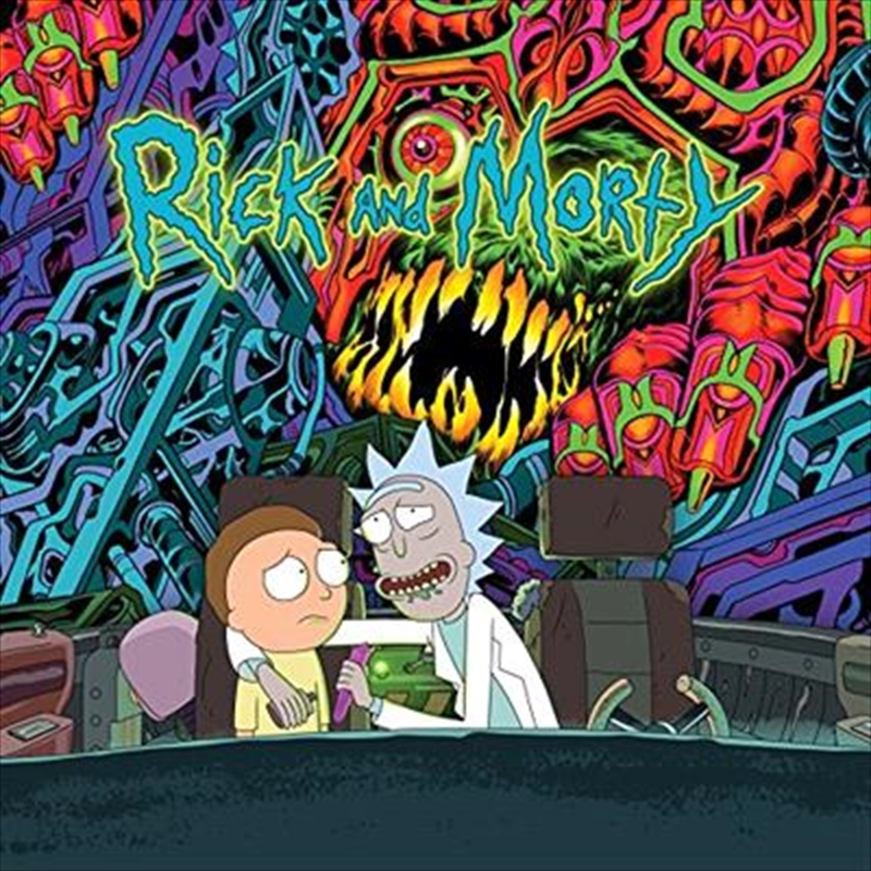 The Rick And Morty -  Deluxe Edition   Vinyl