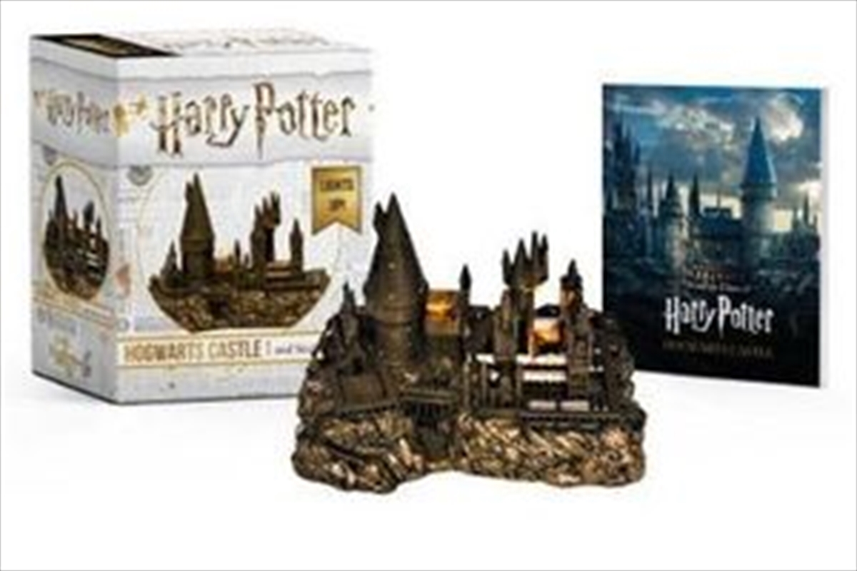 Harry Potter Hogwarts Castle And Sticker Book Lights Up