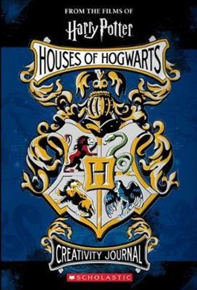 Harry Potter: Houses of Hogwarts Creativity Journal | Hardback Book