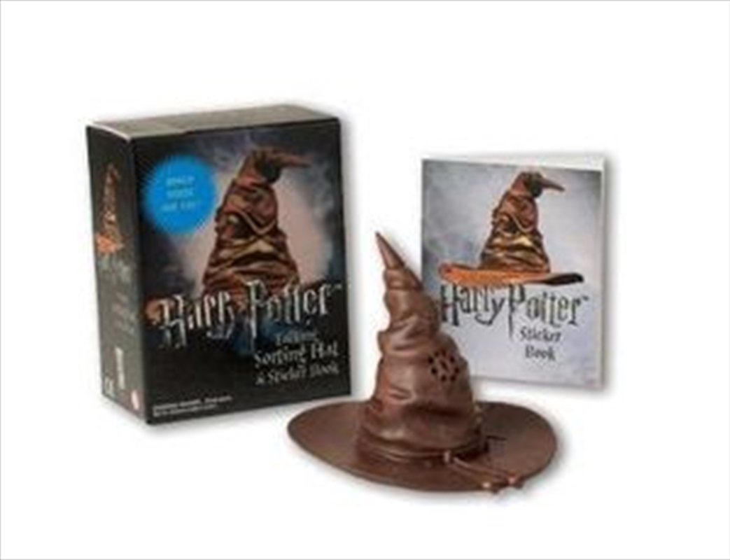 Harry Potter Talking Sorting Hat and Sticker Book | Paperback Book