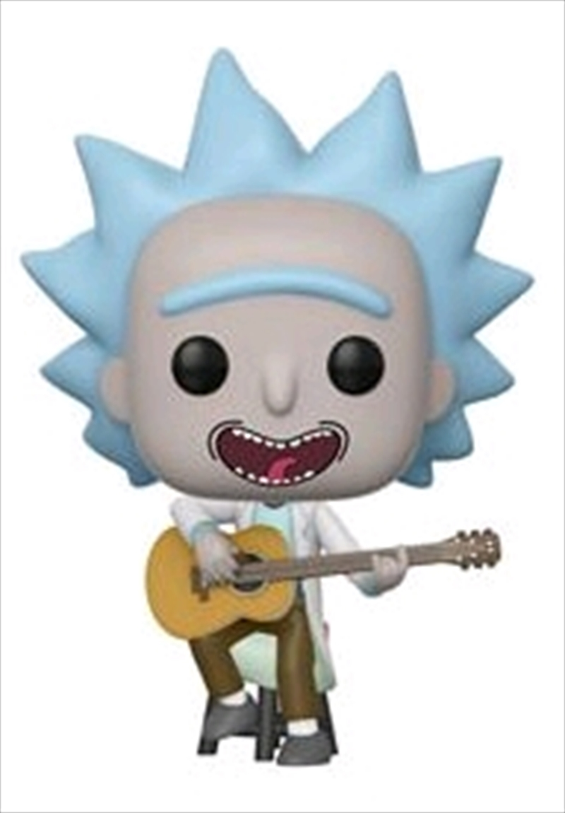 Rick and Morty - Tiny Rick with Guitar US Exclusive Pop! Vinyl [RS] | Pop Vinyl