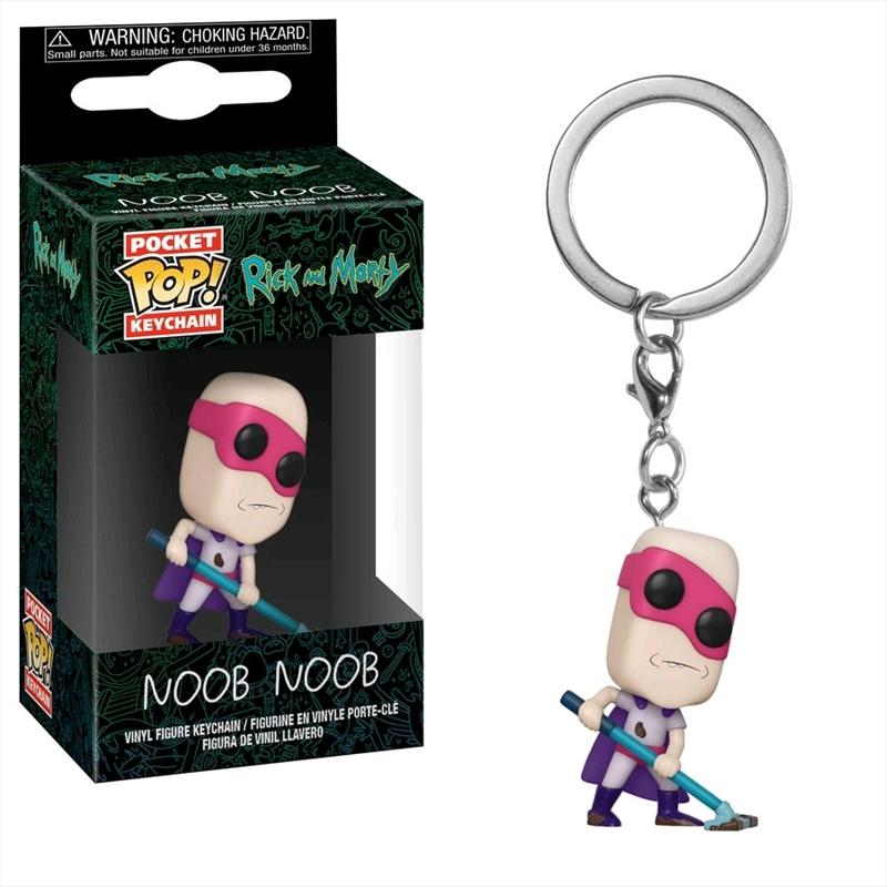 Rick and Morty - Noob Noob Pocket Pop! Keychain | Pop Vinyl