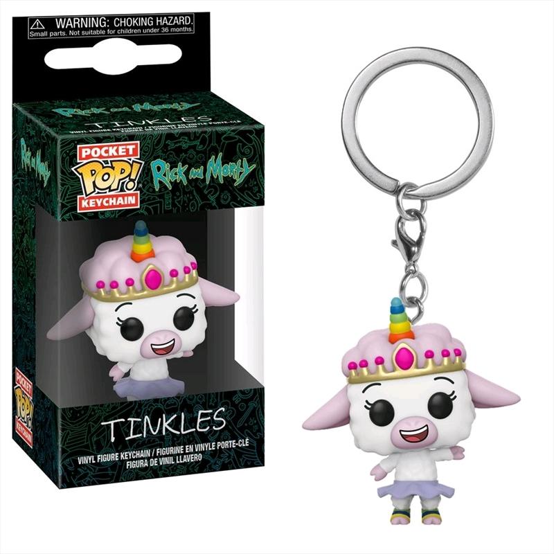 Rick and Morty - Tinkles Pocket Pop! Keychain | Pop Vinyl