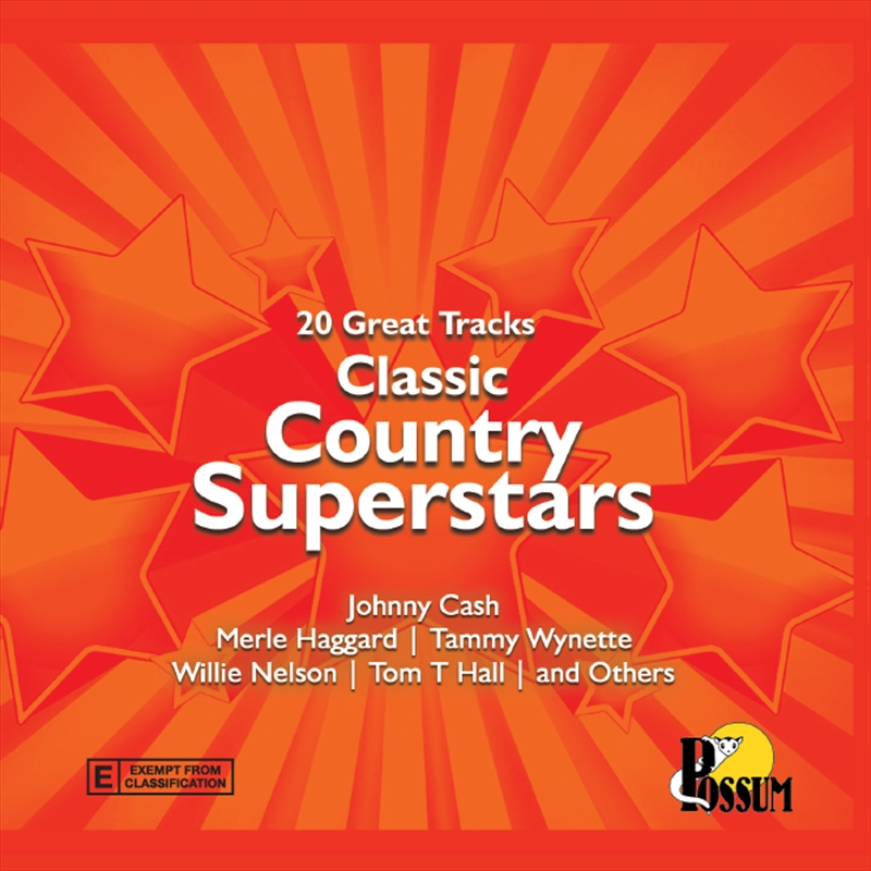 Classic Country Superstars | CD