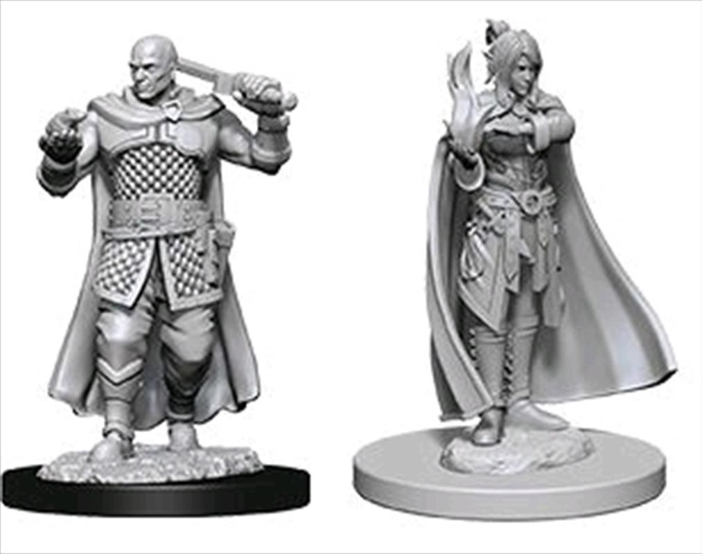 Dungeons & Dragons - Nolzur's Marvelous Unpainted Minis: Minsc & Delina   Games