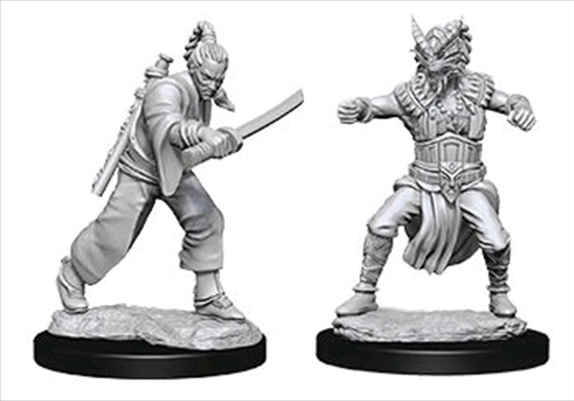 Dungeons & Dragons - Nolzur's Marvelous Unpainted Minis: Male Human Monk | Games
