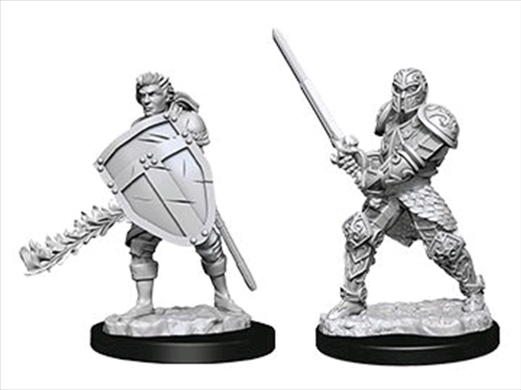 Dungeons & Dragons - Nolzur's Marvelous Unpainted Minis: Male Human Fighter | Games