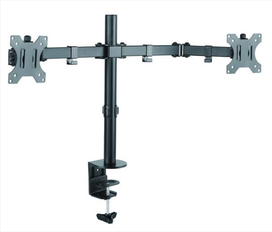 Dual Arm Monitor Desk Mount | Accessories