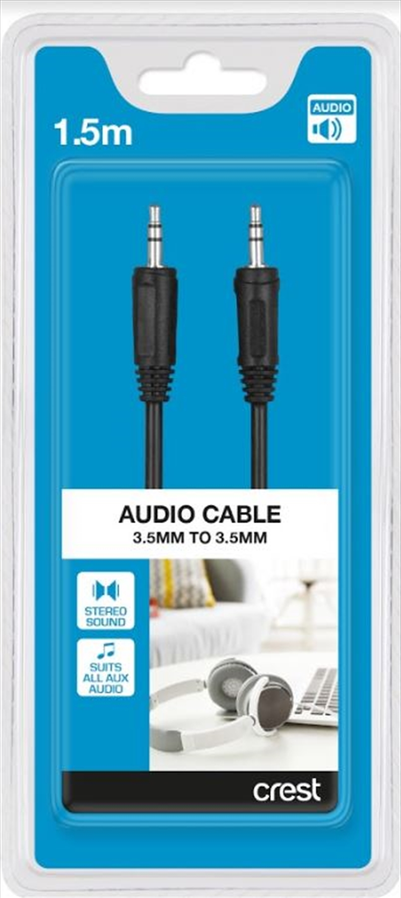 3.5mm To 3.5mm Audio Cable - 1.5M | Accessories