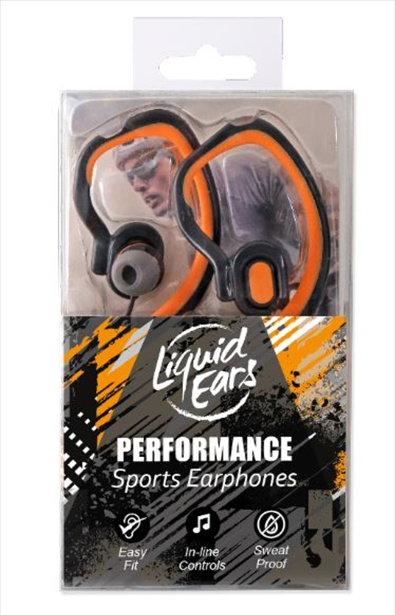 Liquid Ears - Hybrid Ear Hook Orange | Accessories