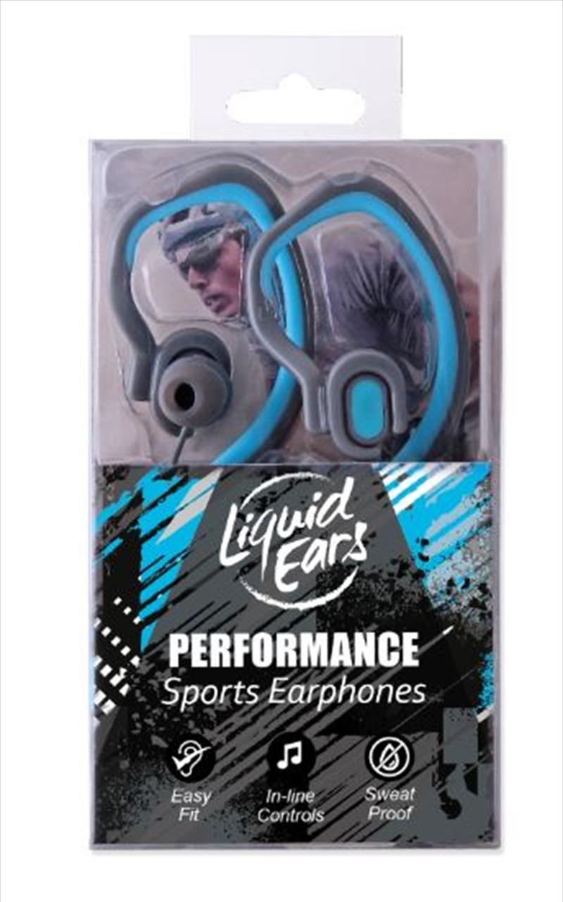 Liquid Ears - Hybrid Ear Hook Blue | Accessories