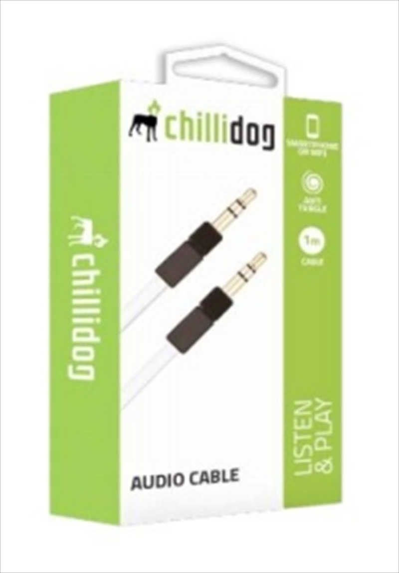 Chillidog Audio Cable White | Accessories