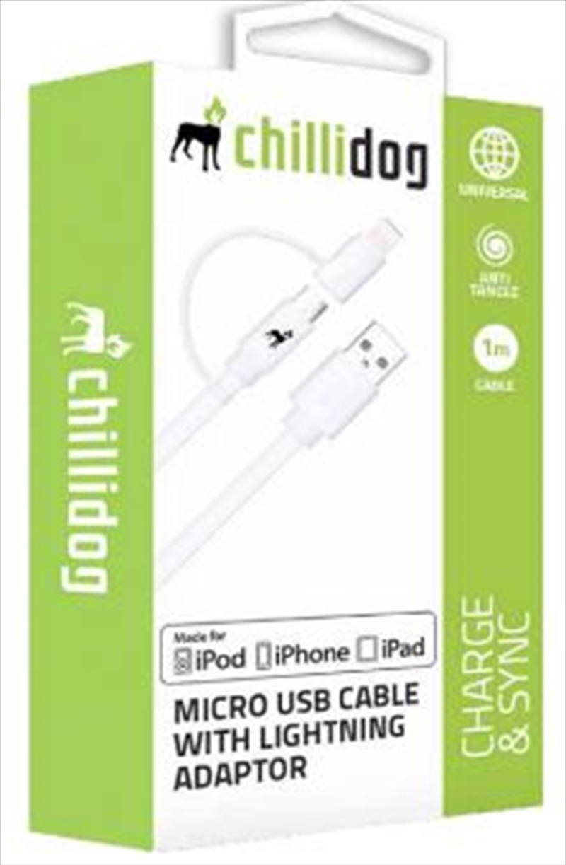 Micro USB Cable With Lightning Adaptor | Accessories
