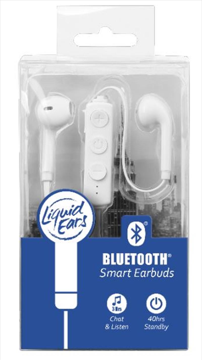 Liquid Ears - Bluetooth Smart Earbud White | Accessories