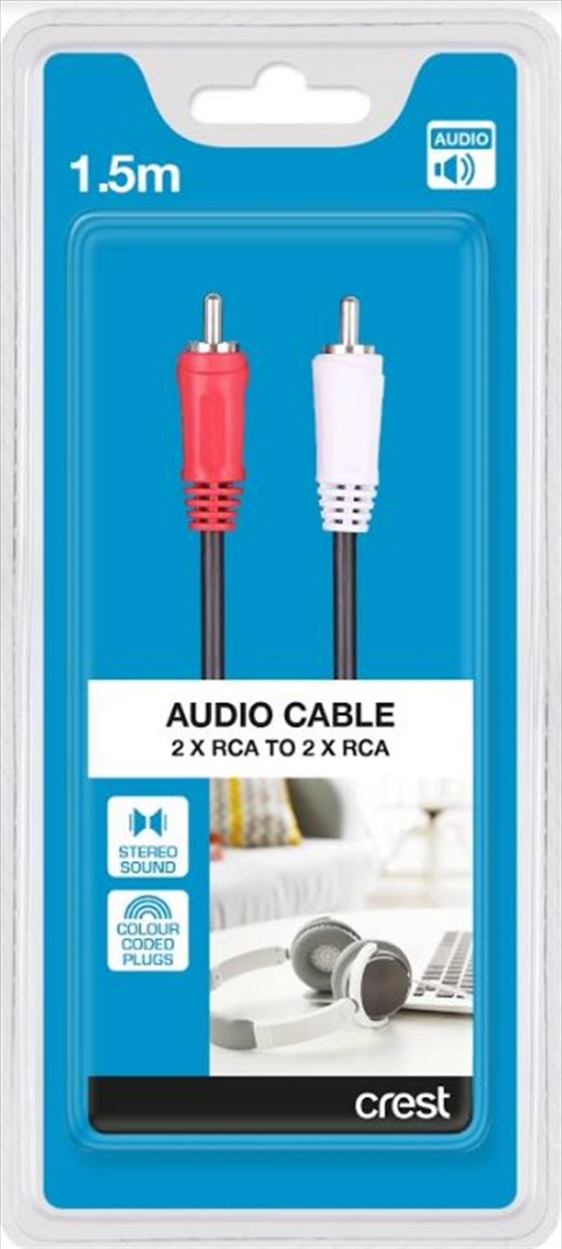 Stereo Audio Cable - 1.5M | Accessories