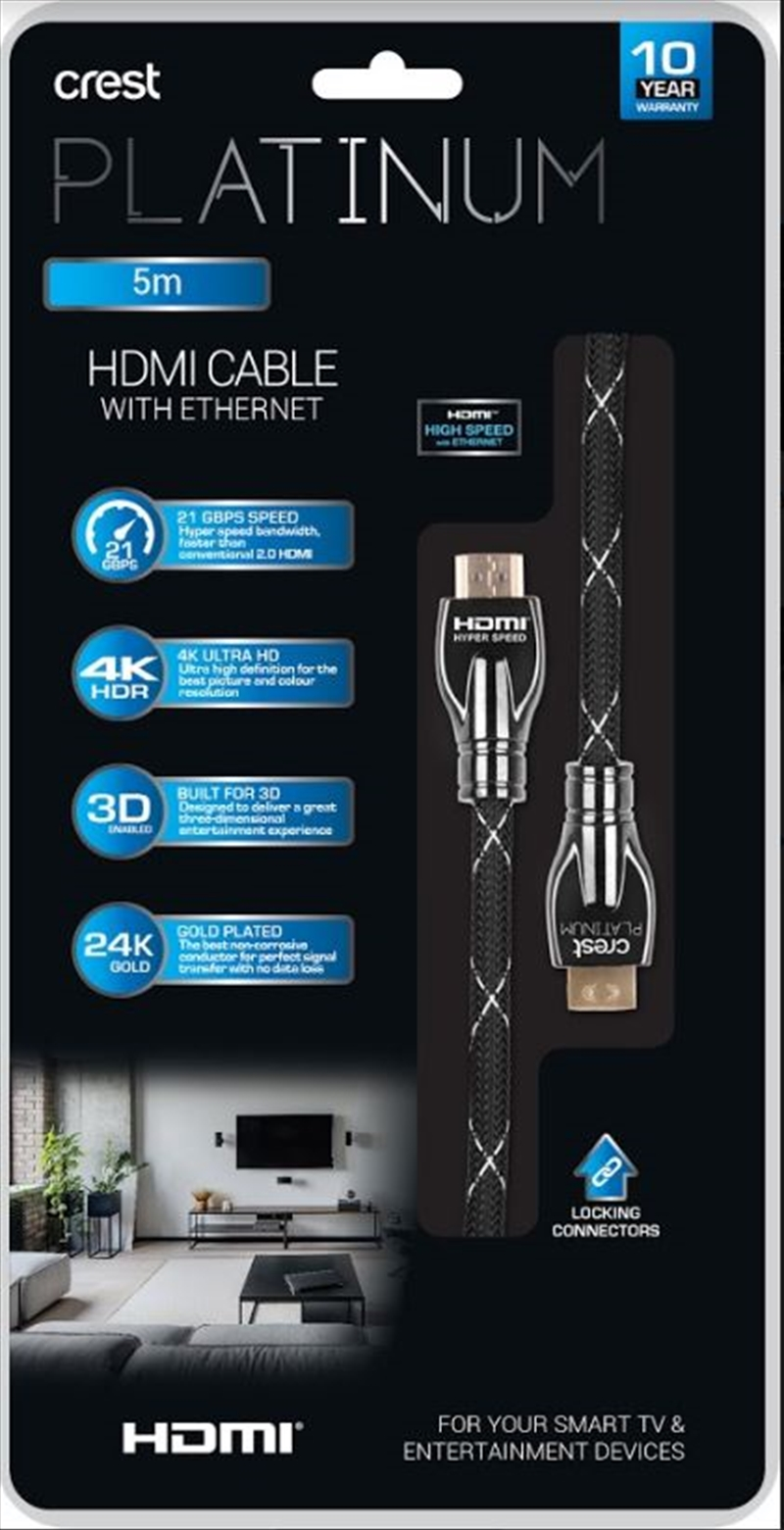 HDMI Cable With Ethernet - 5M | Accessories