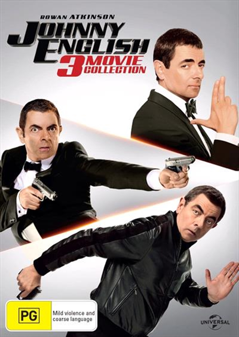 Buy Johnny English Trillogy On Dvd Sanity